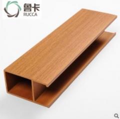 50*90天花 生态木吊顶材料 塑木天花 U型卡扣天花 装饰板材厂家