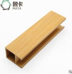 40*55天花 生态木天花材料 木质天花 pvc生态木天花 装饰材料厂家