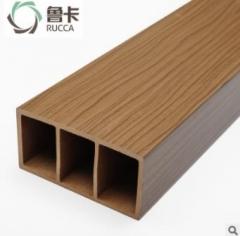 厂价直销生态木100x50方木生态木方通格栅天花 隔断吊顶装饰环保 100*50mm