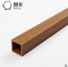 厂价直销生态木25x25方木生态木方通格栅天花 隔断吊顶装饰环保