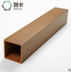 厂价直销生态木50x50方木生态木方通格栅天花 隔断吊顶装饰环保 50*50mm