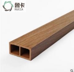 厂价直销生态木50x25方木生态木方通格栅天花 隔断吊顶装饰环保