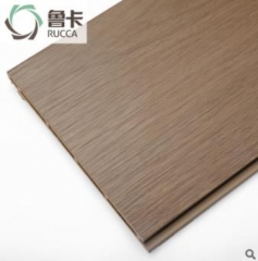 鲁卡170叠式墙板木塑 木屋别墅外墙板室内室外皆可用 生态木墙板 170*17mm