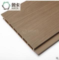 厂家直销170平面墙板 集成快装户外塑木墙板别墅外墙木塑护墙板