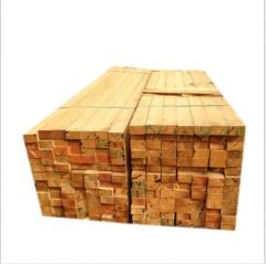 热销建筑木方 辐射松工地铁杉松木工程材料 建筑木材定制