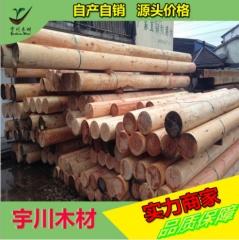 花旗松建筑木方不易劈裂工程板材刨光烘干口料松木方木厂家直销