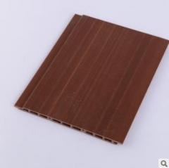 生态木150双面板 双槽生态木装饰板 pvc塑木吊顶墙裙装修材料