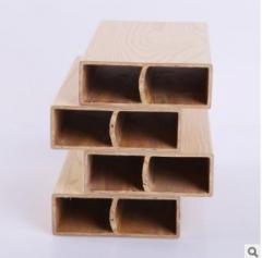 厂家直销 绿明100×35方木 环保生态木方木玄关隔断现货批发 100*35