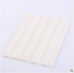 厂家直销150长城板加筋长城板天花吊顶平面木纹墙裙用生态木客厅 150*7.5