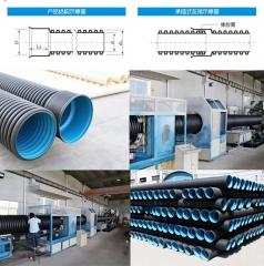 HDPE双壁波纹管生产厂家,河南郑州HDPE双壁波纹管批发厂家