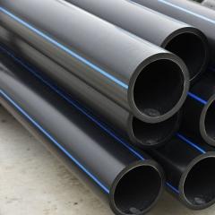 厂家直销PE给水管 材质聚乙烯 耐腐蚀 环保无毒 泉来建材 110mm
