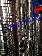 【厂家直销】DN80标准材质不锈钢CF3M法兰片,突面平焊非标法兰盘 DN80 PN16