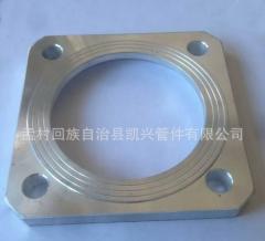 大量供应平焊圆法兰 铝合金铝法兰 耐高压铝法兰