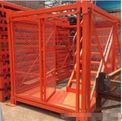 厂家直销 封闭式安全梯笼 建筑基坑 高铁 路桥施工安全爬梯梯笼