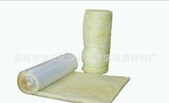 批发聚丙烯防潮铝箔钢结构专用玻璃棉厂家直销白色贴面玻璃纤维棉 20000*1200*50