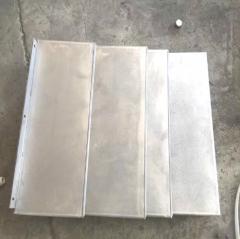 厂家生产机床导轨防护罩 卧式加工中心钢板防护罩数控机床 1-9 件