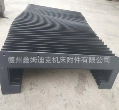激光切割机防护罩 切割机风琴伸缩防护罩 门字型方型防尘折布厂家 1-9 件