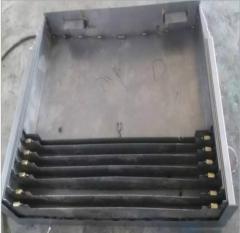 机床钣金护罩 机床导轨护板 数控机床钢板防护罩厂家生产质保一年 1-9 件