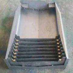 销售机床防护罩 导轨钢板防护罩机床钣金防护罩台湾胶条质保一年 1-9 件