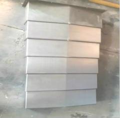 北京精雕加工中心XYZ轴防护罩 雕铣机导轨钣金护罩不脱节 1-9 件