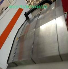 供应日本机械导轨护板 台湾福道精机V-8加工中心导轨防护罩 1-9 件