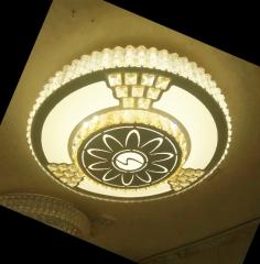 线切割水晶灯 圆形 卧室灯 灯具套件 书房灯 led灯 ≥5 套