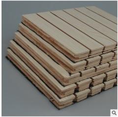 厂家直销多层吸音板 环保吸音隔音板 会议室办公室隔音板 2440*132*15mm