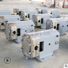 厂家促销 凸轮转子泵 LX3A-60-14.3高粘度泵 可定制移动式转子泵 泵头