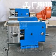 【厂家直销】凸轮转子泵 花生肉酱变频输送泵 不锈钢转子泵 LX3A-3-0.9-0.55KW整机