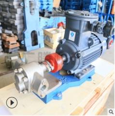 厂家直销KCB304食品级不锈钢齿轮泵高温粘度食用油泵价格促销 KCB10/0.75KW三相6分量0