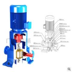 厂家直销立式防爆滑片泵 柴油汽油丙烷甲醇卸车倒灌输送泵厂家