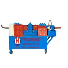 厂价专业提供多种钢筋和预应力机械钢管调直机华海机械调直机 HH-48A12