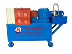 钢管调直机华海架子管除锈机 新型排栅管喷漆机厂家钢管调直机 HH-48A11
