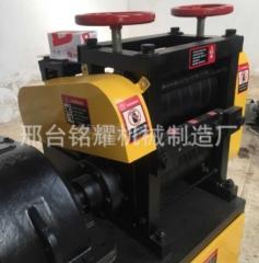 邢台小型钢筋调直机废旧钢筋调直设备现货供应钢筋矫直机器 6-12