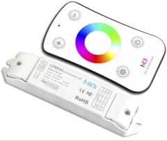 雷特 促销 迷你RGB七彩LED灯条 灯带控制器 rf控制器 RGB控制 ≥10 件