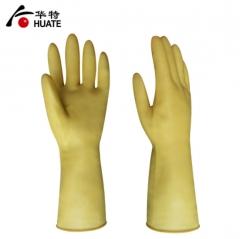 华特3503 加厚牛筋胶手套 耐油防水 洗碗洗衣洗涤防护劳保用品
