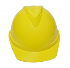 华特abs高强度V型工地施工领导头盔建筑工程监理劳保防砸安全帽