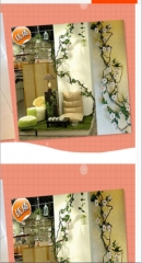 仿真1.6米长枯藤 干藤造景藤条 商场仿真植物墙绿植墙装饰