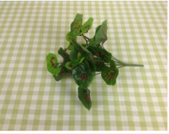 仿真叶草 绿萝叶 仿真绿植 仿真花 人造花 仿真植物 植物墙 塑料