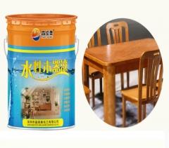 厂家直销水性木器漆清漆乳液室内家具修补涂料防水耐黄变水性漆1K