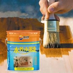 厂家直销水性木器漆清漆乳液室内家具修补涂料防水耐黄变漆10kg