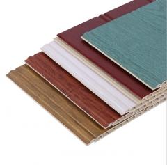 新品上市 竹木纤维集成墙板 护墙板 竹纤维 200圆槽集成墙板 40-199 平方米