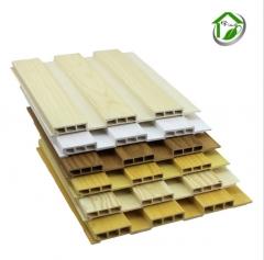 厂家直销 新型环保护木塑墙板 墙裙吊顶材料 生态木195大长城板 60-1000 米