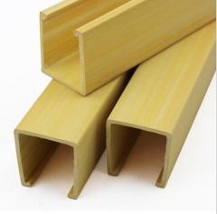 爆款推荐厂家直销 pvc木塑环保材料 绿可木格栅 生态木天花吊顶 100-1000 米