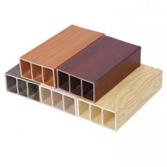 厂家直销量大优惠 室内装饰用木方方通隔断 生态木方木100*50 1-500 米