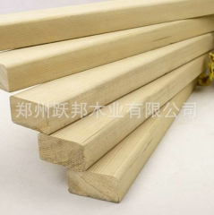 厂家提供炭化防腐木材 户外防腐木材料 防腐木批发 4*9cm