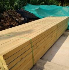 圆木 河南木材厂家 圆木棒圆木柱子 方木 木龙骨 木板 可定制