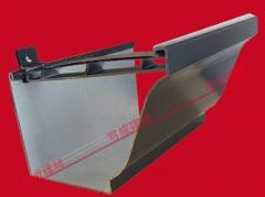 南通铝合金檐沟 金属成品天沟 铝合金雨水管