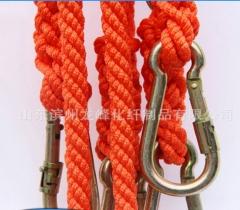 滨州安全绳批发 高强丝高空作业防护安全绳 16mm防护绳