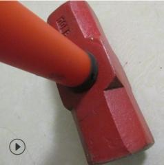 批发防震柄PVC柄大锤头砸楼房带柄八角锤五金工具 请整件拍下 带柄8p大锤 10把/件